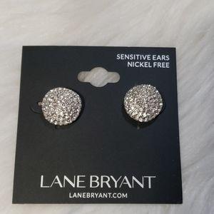 Lane Bryant womens nickel free sensitive earrings